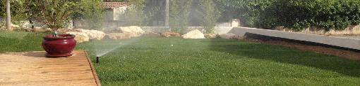 Arrosage bassin fontaine - Arrosage et pelouse - Prades le Lez - Jardins Méditerranéens